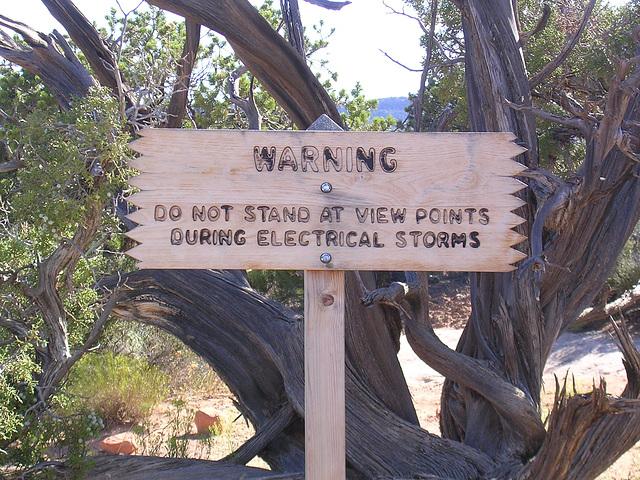 Natural Bridges - Gefährlich!!!