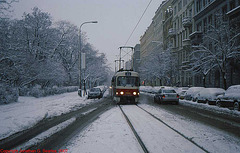 DPP #7039 In The Snow, Jiriho z Podebrad, Prague, CZ, 2007