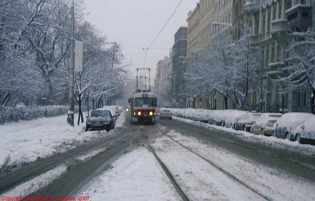 DPP #7079 In The Snow, Jiriho z Podebrad, Prague, CZ, 2007