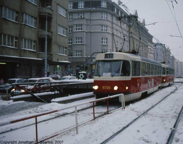 DPP #6720 In The Snow, Flora, Prague, CZ, 2007