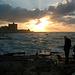 Crépuscule sur la Méditerranée