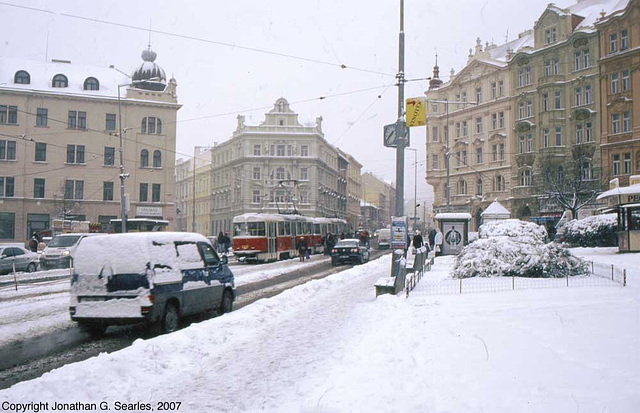 Snow, Namesti Bratri Synku, Prague, CZ, 2007