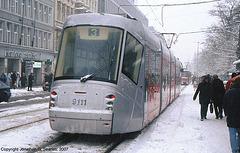 DPP #9111 In The Snow, Karlovo Namesti, Prague, CZ, 2007