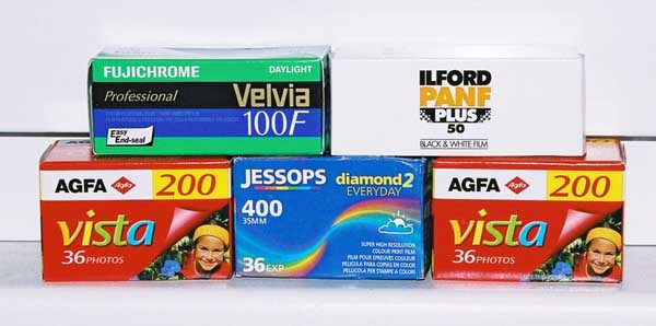 Various Film In My Inventory, February 2007