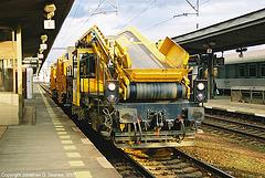Rail Grinding Machine???, Nadrazi Holesovice, Holesovice, Prague, CZ, 2007