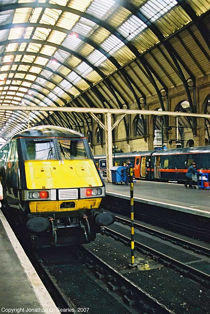 GNER Intercity 225s At London King's Cross, London, England(UK), 2007