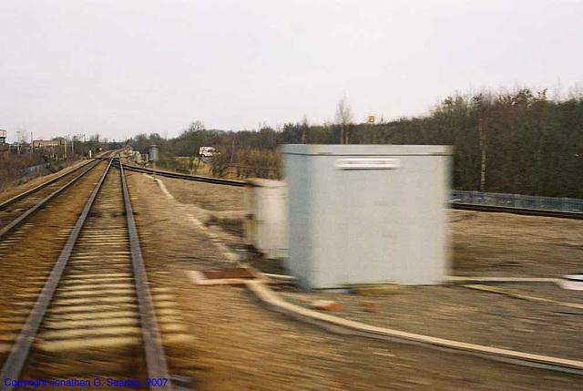 Newark Flat Crossing, Newark North Gate, Nottinghamshire, England(UK), 2007