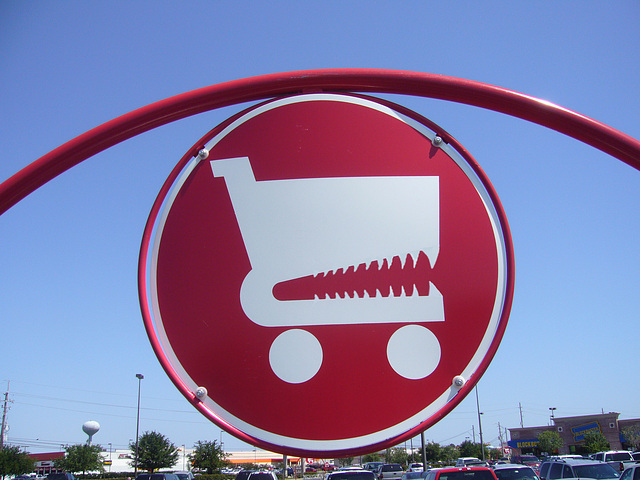 Target Fighting Carts Corral