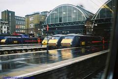 Departure From London King's Cross, London, England(UK), 2007