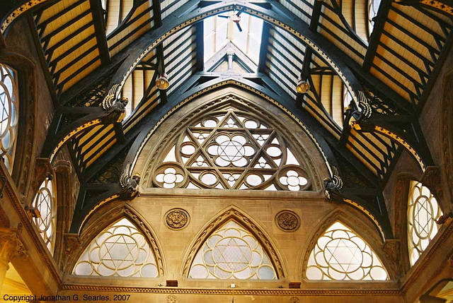 Bradford Wool Exchange Ceiling, Bradford, West Yorkshire, England(UK), 2007