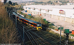 Class 333 Arriving At Bradford Forster Square, Picture 2, Bradford, West Yorkshire, England(UK), 2007