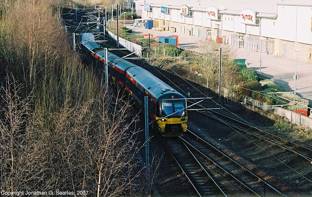 Class 333 Arriving At Bradford Forster Square, Picture 3, Bradford, West Yorkshire, England(UK), 2007