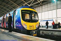 First Transpennine Express #185140 at Leeds New Station, Leeds, West Yorkshire, England(UK), 2007