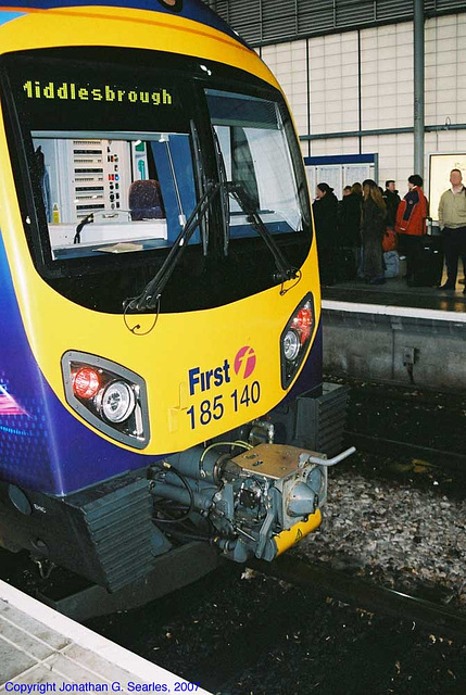 First Transpennine Express #185140, Picture 2, Leeds New Station, Leeds, West Yorkshire, England(UK), 2007