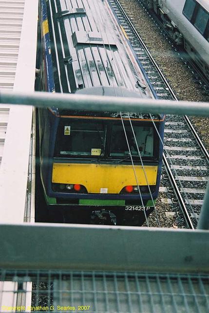 Silverlink #321423 At Leeds New Station, Leeds, West Yorkshire, England(UK), 2007