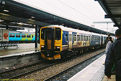 First Northern #155347 At Leeds New Station, Leeds, West Yorkshire, England(UK), 2007