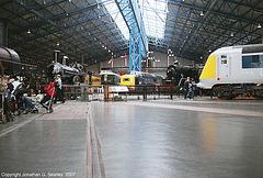 Great Hall, National Railway Museum, York, North Yorkshire, England(UK), 2007