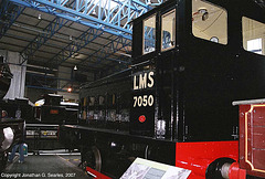 LMS #7050, Great Hall, National Railway Museum, York, North Yorkshire, England(UK), 2007