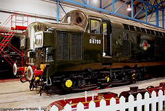 """BR #D6700, """"National Railway Museum,"""" Great Hall, National Railway Museum, York, North Yorkshire, England(UK), 2007"""