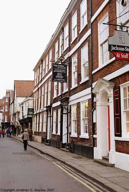 Guy Fawkes pub, York, North Yorkshire, England(UK)