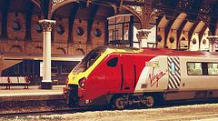 "Virgin 220031, ""Tay Voyager,"" York Central Station, York, North Yorkshire, England(UK), 2007"