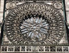 St.Lorenz - rose window