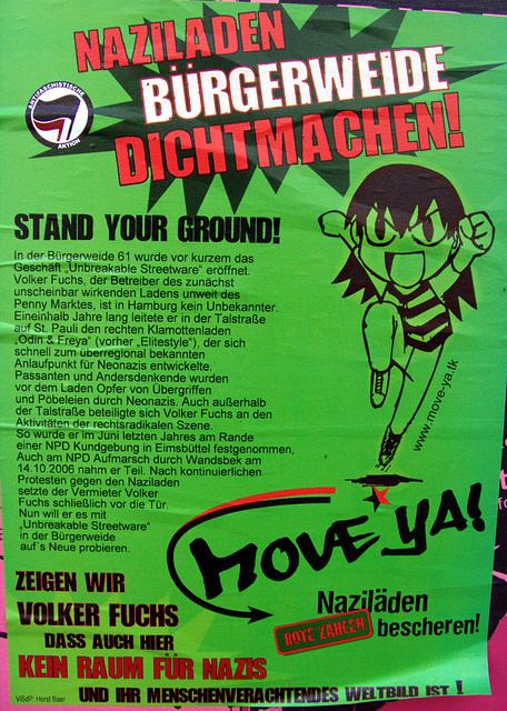 Naziladen Bürgerweide dichtmachen!