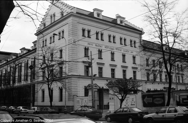 Mestan Pivovar, Picture 4, Holesovice, Prague, CZ, 2007