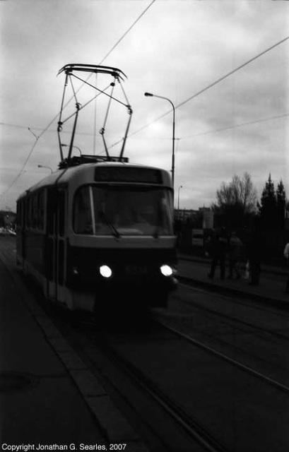 Tatra T3 At Nadrazi Holesovice, Holesovice, Prague, CZ, 2007