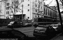 DPP #8609 Passing Mestan Pivovar, Holesovice, Prague, CZ, 2007
