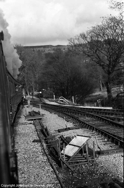 Keighley & Worth Valley Railway Excursion Departing Oxenhope, West Yorkshire, England(UK), 2007