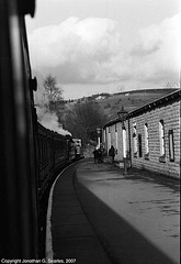 Train Station At Oxenhope, West Yorkshire, England(UK), 2007