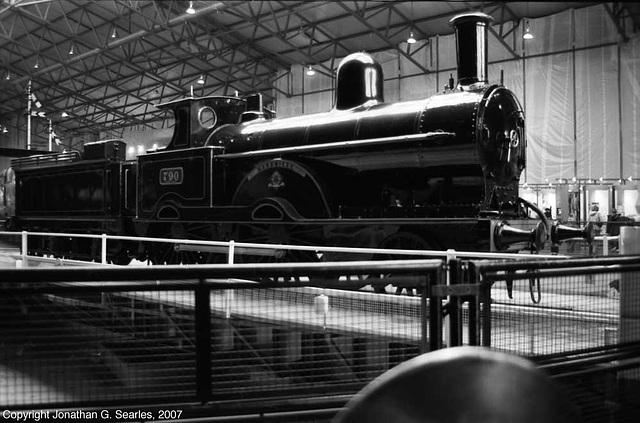 "ex-London & North Western #790, ""Hardwicke"" at the National Railway Museum, York, North Yorkshire, England(UK), 2007"