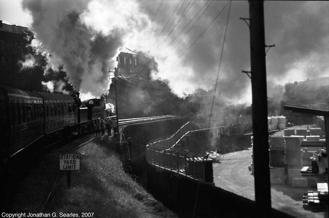 K&WV Excursion Departing, Picture 2, Keighley, West Yorkshire, England(UK), 2007