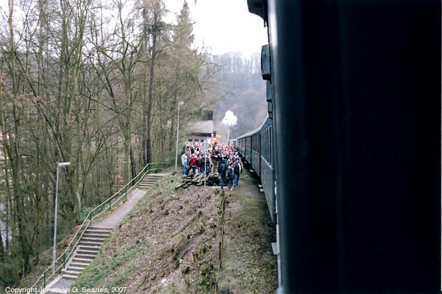 Long Excursion Train At Krivoklat, Bohemia (CZ), 2007
