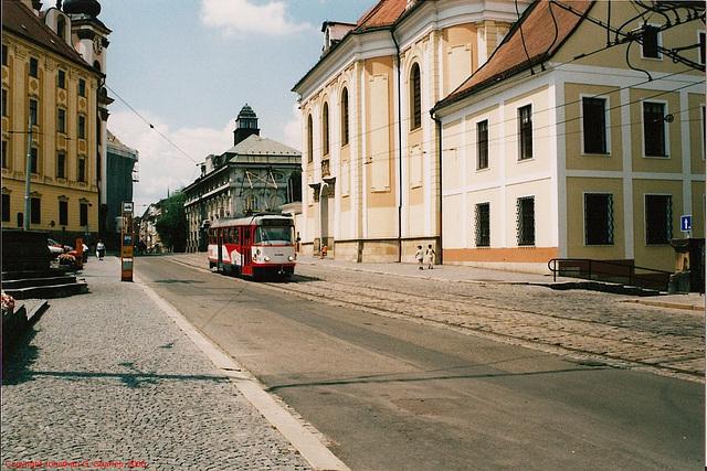 Tatra T3 Tram, Olomouc, Moravia (CZ), 2006