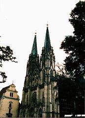 St. Vaclav's (St. Wenceslas's) Cathedral, Olomouc, Moravia (CZ), 2006