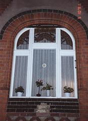 Fenster in Leede / Spreewald