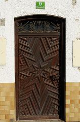 "Icking - Door of the ""Gasthof Zur Post"""