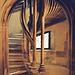 Strasbourg : Escalier renaissance du musée de l'Oeuvre Notre Dame