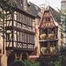 Strasbourg : Cour du musée de l'Oeuvre Notre Dame