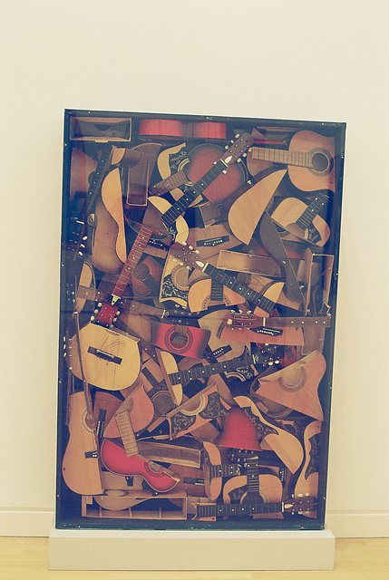 Strasbourg : Oeuvre au musée d'art moderne