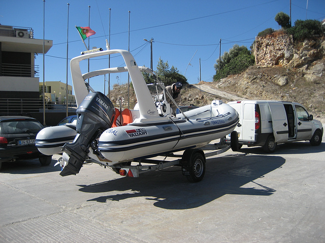 Escola de Mar, boat for marine activities