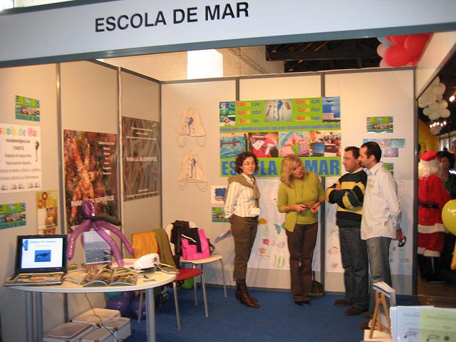 Escola de Mar, stand for public awareness & information