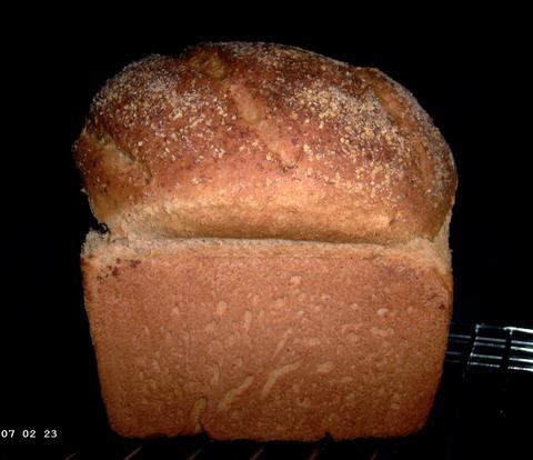 Whole Wheat Oatmeal Bread 1