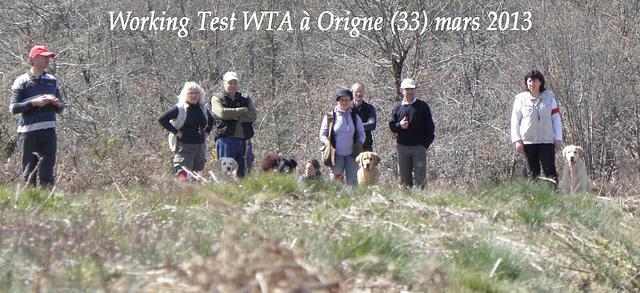 Working Test WTA à Origne (33)  mars 2013