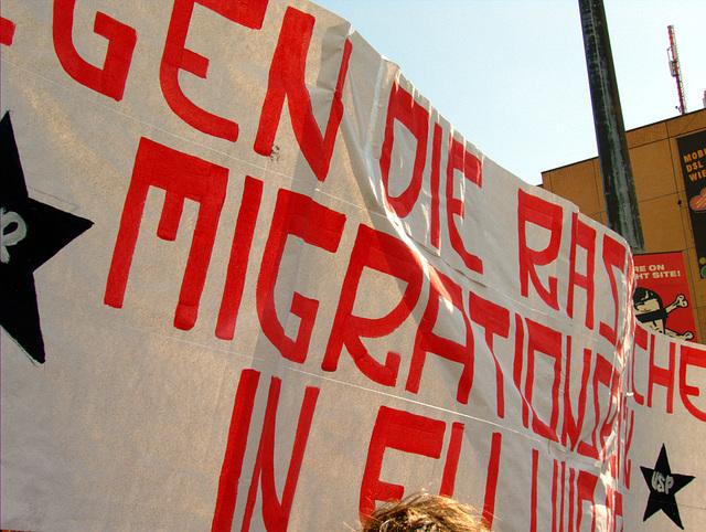 Gegen die rassistische Migrationspolitik in EU und BRD