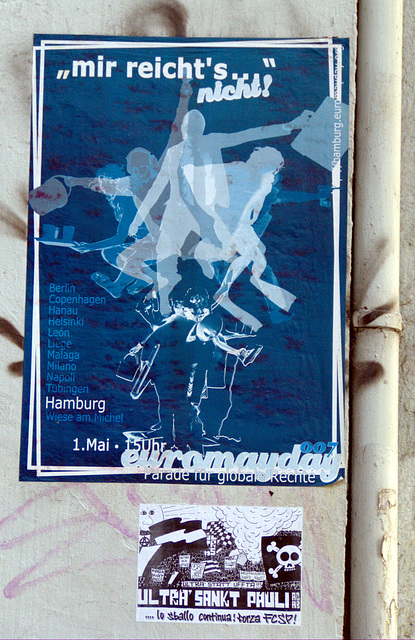 Euromayday und Ultra' Sankt Pauli