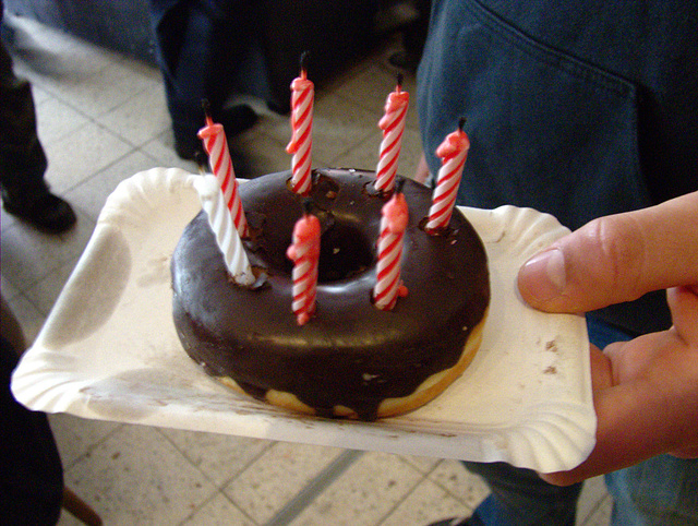 Birthday - Doughnut