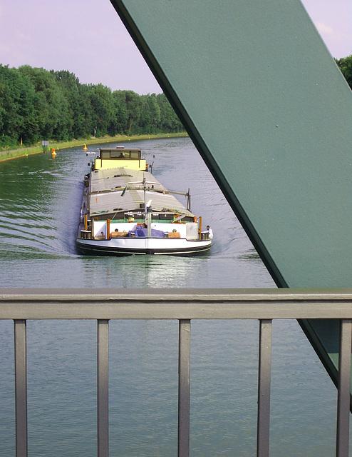 Am Mittellandkanal beim Museum Kalkriese